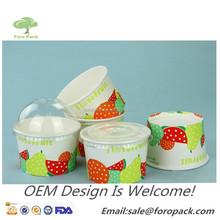 Customized Ice cream paper cup