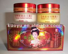 Lulanjina skin whitening cream,specially good effect beauty whitening & speckle-eliminating suit