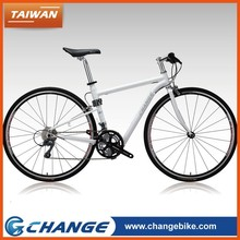 CHANGE F10 quality best deisgn tawian made 700C race flat bar lady bicycle