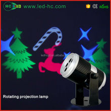 2016 new Rotating projection decoration new christmas decorations
