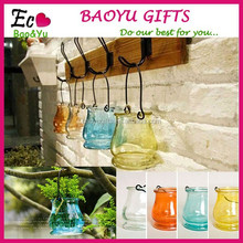 The new glass candle holder with hooks romantic wedding lantern ornaments creative boutique jewelry supply