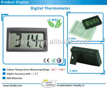 china supplier small digital room temperature meter (S-W01)