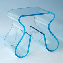 personalized customized blue side acrylic household table