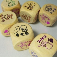 2015 High Quality Colored Custom Round Corner Game Dice for Party