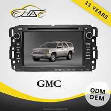 7 inch double din car dvd with gps touch screen car radio gps for gmc yukon