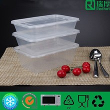 Microwave Plastic Food Container Takeaway 500ml