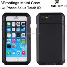 Manufacturing Aluminum Waterproof Case for Apple iPhone6+