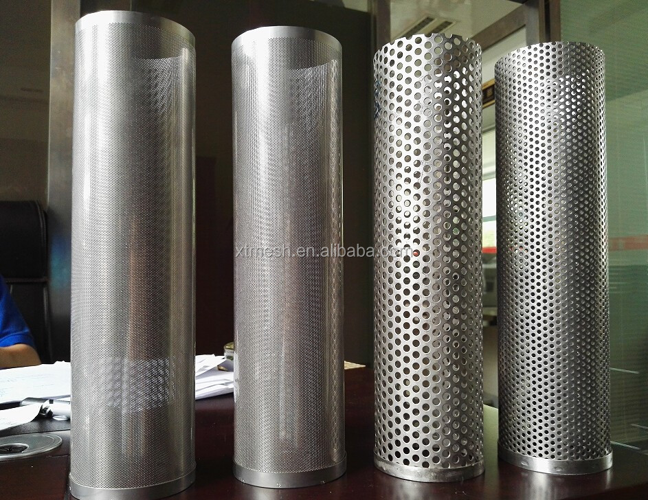 Punched Hole Metal Mesh / Stainless Steel Sheet With Punch Holes ...