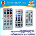 automóvil personalizado MP3 audio aire acondicionado TV código universal de mando a distancia