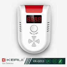 Fashion Design Best Quality Housing LED Screen Smart Gas Leak Detector (GD-13)