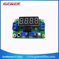 DC Step Down Converter 2A Constant Voltage Current with Voltmeter Ammeter Red LED