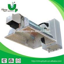 Double ended lighting fixture,hydroponic 1000w de reflector,120v/240v aluminium hps grow bulb double ended light fixture