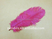 PARTY DECORATION HOP PINK OSTRICH FEATHERS FOR WEDDING DECORATION