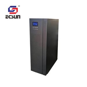 Alta calidad avanzada desequilibradas cargas monofásico onda sinusoidal 100kva ups en línea