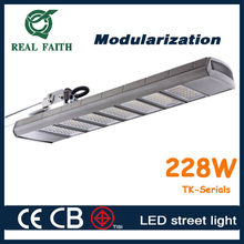 Real Faith bright 200W 228W street lamp design