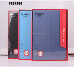 New Design PU leather Tablet Smart Cover Case for iPad mini 4 case