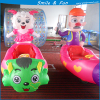 Hot sale battery bubble tent/ inflatable car cover for kids
