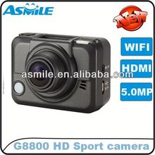 Domestic G8800 poe external low cost wifi ip camera function can be used for car and motorcycle bike ski diving