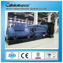 60hz 400V 1200kw hotel used power generator MTU engine