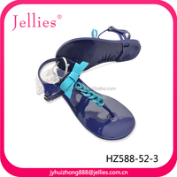 Pvc Jelly Latest Ladies Slippers Shoes and Sandals In China