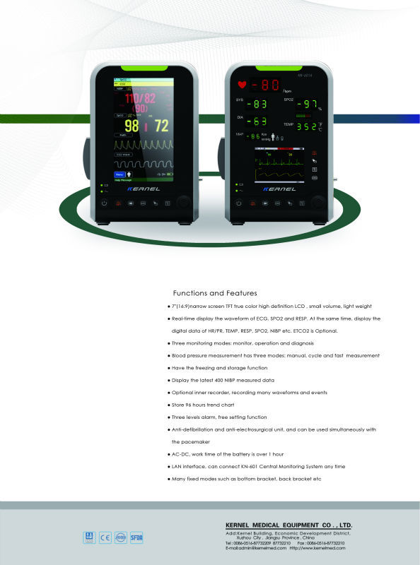 Multi-parameter Patient Monitor, KN-601A