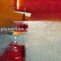 decoratino abstracto pintura al óleo