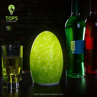 China import items decor cordless rechargeable battery turkish glass lamps