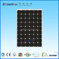 A level solar panel cells broken solar panel 200w for sale