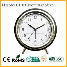 Plastic Hot sale snooze Alarm Desktop Clock