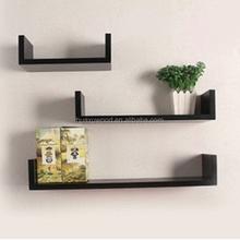 HX-MZWS52 MDF material cheap floating wall shelf