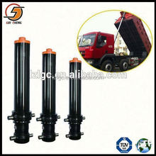 front mounted heavy ton oem telescopic hydraulic cylinder for dump truck