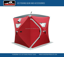 POP UP ICE FISHING SHELTER FOR WINTER FISHING AND HUNTING