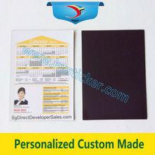 Promotional and decorative souvenir magnetic fridge whiteboard