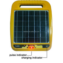 Large terminals Lanstar portable &durable solar rancher cattle&horse fence energizer waterproof & dustproof