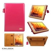 Kaku professional smart stand leather cover case for ipad 4