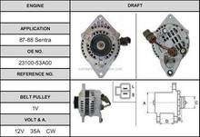 Nissan Sentra Cheap price auto car 23100-53a00 alternator