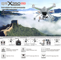 Original QR X350 Pro professional RTF Version FPV quadcopter RC drone Helicopter With DEVO F7 Transmitter
