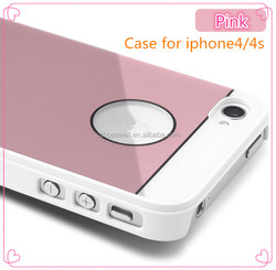 Hot sale good quality hard PC cellphone case for iphone 4/4S