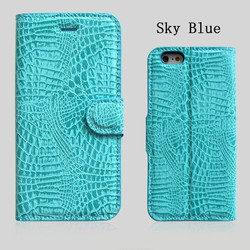 Guangzhou Factory Custom Flip Leather Case for Iphone 6S Newest Phone Accessories