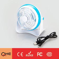Mini Fan 5V low voltage Ultra quiet desk fan for Office worker