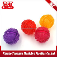 spiny bouncing ball toy for dog