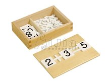 Montessori teaching material Arithmetic Signs Box