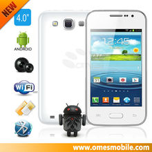 top sales android 4'' HD big screen 4 Band dual sim card phone