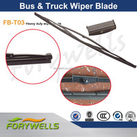 New Flyer 800MM Bus Wiper Blade With Black Domed Rivets