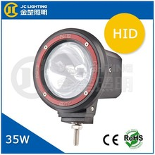 H3 4 inch round motorcycle HID work light, 35w/55w HID xenon work light, HID spot lights