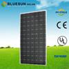 BlueSun good efficiency TUV CE ISO qualified standard mono crystalline silicon suntech PV modules 300w solar panel black
