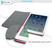 High quality pu leather flip case for ipad 5, for ipad air 2