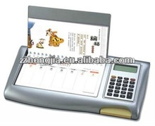 2013 Desk Calendar with Calculator Attached