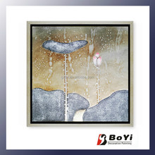 Artificial Philippine Oil Painting Water Lily Products
