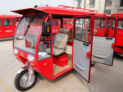 3 wheeler open/closed body electric tricycle on hot sale